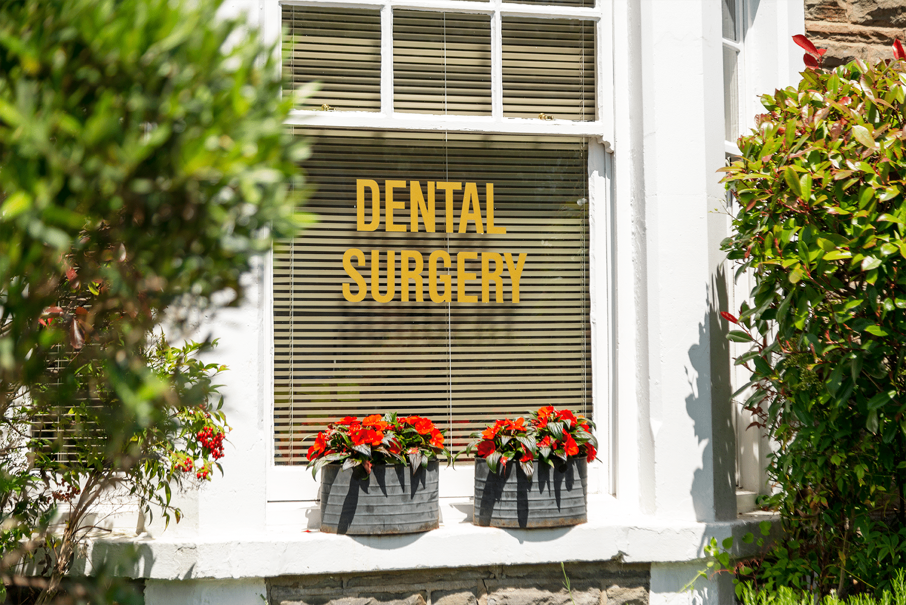 Outside View of The White's Dental Practice in Cardiff